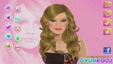 Hilary Duff Makyaj Ve Giydirme Oyununun Tanıtım Videosu