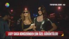 İstanbul Lady Gaga Konserinde Kadın Kılığına Giren Fanları