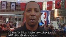 Sean Elliott, Ülker Smartt Sponsorluğunda İstanbul'da