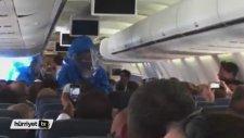 Uçakta 'Ebola' Şakası Paniğe Neden Oldu
