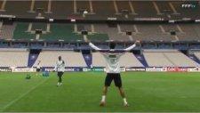 Real Madrid'li Yıldızdan Efsane Hareket!