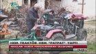 Hurda Parçalardan Hem Traktör Hem Patpat Yaptı