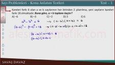 Sayı Problemleri - Konu Anlatımı Ders 2