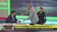 Adnan Aybaba, Mehmet Baransu'ya Silah Çekti