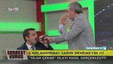Adnan Aybaba Mehmet Baransu'ya Silah Çekti