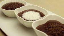 Kakaolu Çikolatalı Kolay Ev Pudingi Tarifi - Puding Yapımı