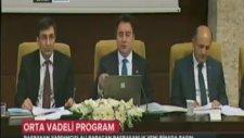 Orta Vadeli Program (OVP), Kalkınma Bakanı Cevdet Yılmaz'ın katılımı ile açıklandı.