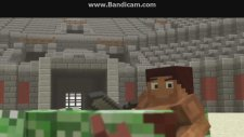 Minecraft Animasyon - Herobrine Dönüşümü Ve Kahramanlar