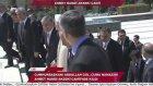 Cumhurbaşkanı Gül, Cuma namazını Ahmet Hamdi Akseki Camii'nde kıldı