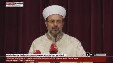 Dini Yüksek İhtisas Kurslarında Mezuniyet Sevinci...