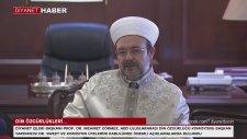 Diyanet İşleri Başkanı Prof. Dr. Mehmet Görmez, Abd Din Özgürlüğü Komisyonu'nu Kabul Etti...