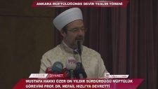 (Mehmet Görmez-Diyanet) Ankara Müftülüğünde Devir Teslim Töreni...