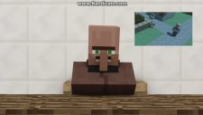 Minecraft Animasyon Villager News