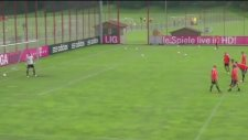 Bayern Münih Antrenmanında Robben Şov!