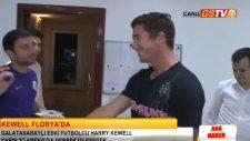 Harry Kewell Derbi Öncesi Florya'yı Ziyaret Etti