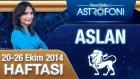Aslan Burcu Haftalık Astroloji Yorumu 20-26 Ekim 2014