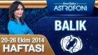 Balık Burcu Haftalık Astroloji Yorumu 20-26 Ekim 2014