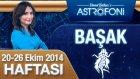 Başak Burcu Haftalık Astroloji Yorumu 20-26 Ekim 2014
