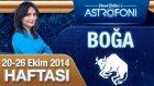 Boğa Burcu Haftalık Astroloji Yorumu 20-26 Ekim 2014