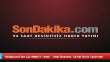 Halilhodzic'ten Çalımbay'a Yanıt: