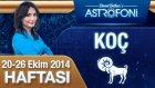 Koç Burcu Haftalık Astroloji Yorumu 20-26 Ekim 2014