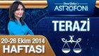 Terazi Burcu Haftalık Astroloji Yorumu 20-26 Ekim 2014