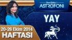 Yay Burcu Haftalık Astroloji Yorumu 20-26 Ekim 2014
