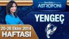 Yengeç Burcu Haftalık Astroloji Yorumu 20-26 Ekim 2014