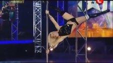Ukraine Got Talent - The World's Best Pole Dancer - Anastasia Sokolova