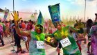 Color Sky - Renkli Koşu Macerası