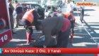 Muğla'da Kamyonetle Otomobil Çarpıştı: 2 Ölü, 3 Yaralı