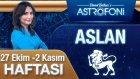Aslan Burcu Haftalık Astroloji Yorumu 27 Ekim2 Kasım 2014
