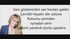 Aygün Kazımova - Sene Xesteyem Lyrics