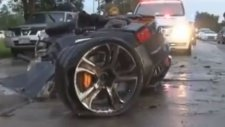 Tehlike Anında Kuyruğunu Bırakan Lamborghini