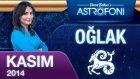Oğlak Burcu Aylık Astroloji Yorumu Kasım 2014