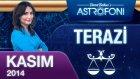 Terazi Burcu Aylık Astroloji Yorumu Kasım 2014