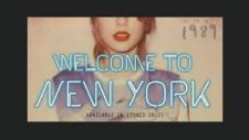 Taylor Swift - Welcome To New York (Audio)