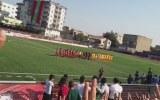Cizrespor-Göztepe Maçında İstiklal Marşı Sırasında Abdullah Öcalan Sloganları Atıldı