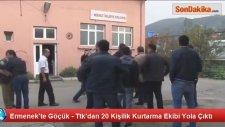 Ermenek'te Kömür Ocağında İşçilerin Mahsur Kalması