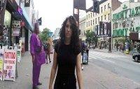 New York'ta Kadina Taciz