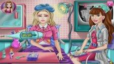 Barbie Bebek İle Doktorculuk Oyunu