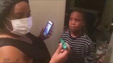 Anne Babadan Çocuklarına Acımasız Ebola Şakası