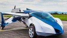 Uçan Otomobil İlk Uçuşunu Gerçekleştirdi