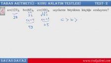 Trakademi - Taban Aritmetiği Konu Anlatımı Ders 2