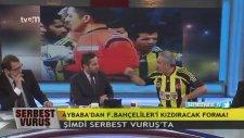 Adnan Aybaba'dan TFF Reklamlı Fenerbahçe Forması