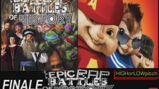 Artists Vs Turtles. Epic Rap Battles Of History Season 3 Finale. Chıpmunks  Version