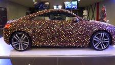Çikolatayla kaplı Audi TT