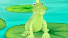 Kuklalarla Küçük Kurbağa Şarkısı