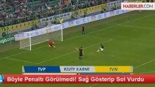 Böyle Penaltı Görülmedi! Sağ Gösterip Sol Vurdu