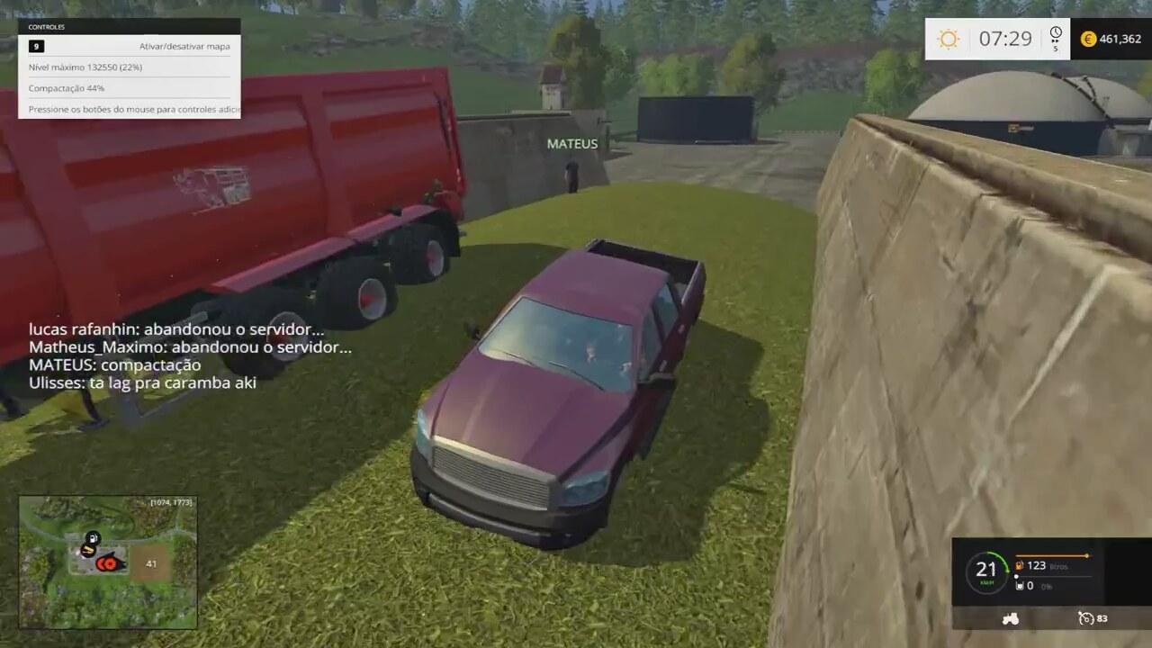 Farming simulator 2015 multiplayer man
